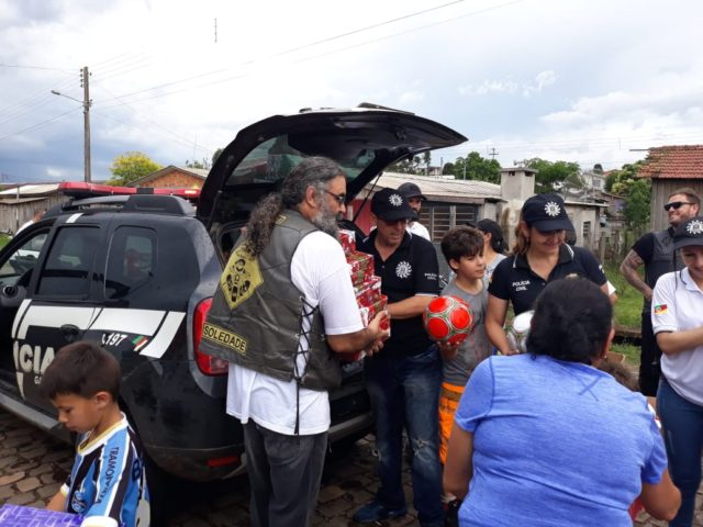 Polícia Civil realiza Natal Solidário em Soledade