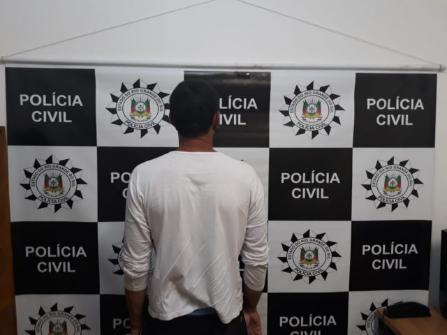 PC prende homem por pensão alimentícia em Barros Cassal